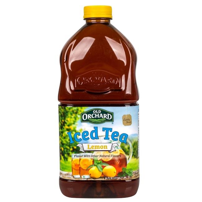 Old Orchard Lightly Sweetened Lemon Iced Tea, 64 oz  Bottles
