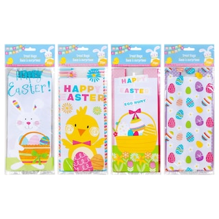 Easter-Themed Cello Loot Bags, 20-ct. Packs