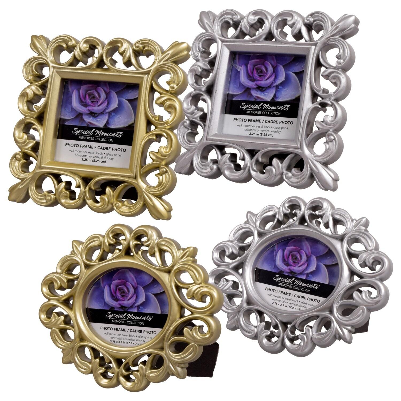 Mini Scroll Picture Frames