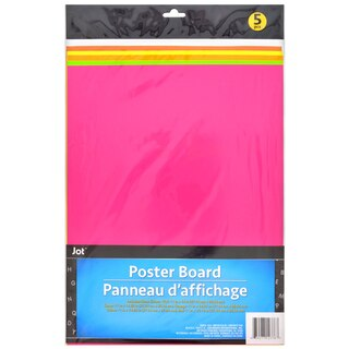 Neon Poster Boards
