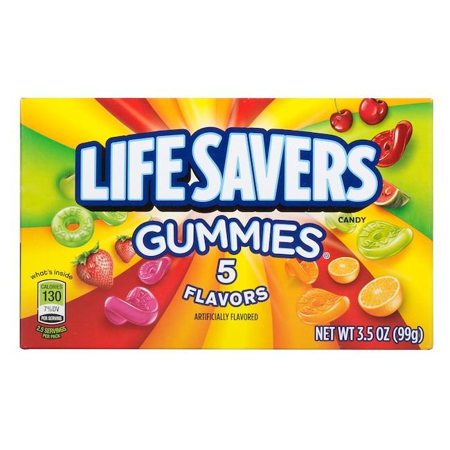 897780195 DollarTree.com | Bulk Lifesavers 5-Flavors Gummies, 3.5-oz. Boxes