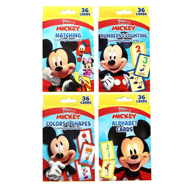 dollartree com disney mickey mouse clubhouse flash cards