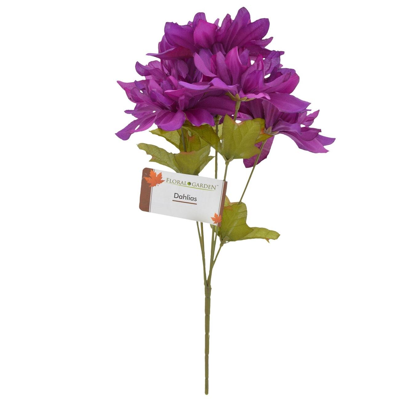 Purple dahlia flowers dollar tree inc floral garden 5 stem purple dahlia flowers 13 in izmirmasajfo
