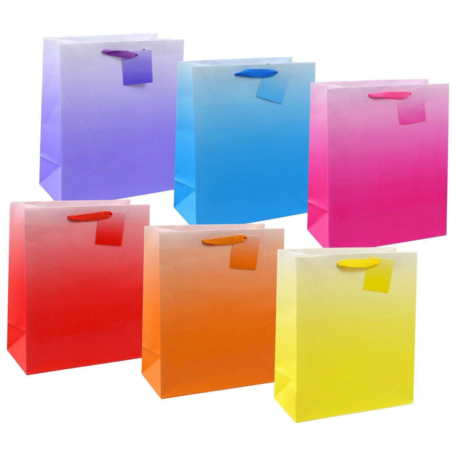 Voila Large All Occasion Ombre Gift Bags
