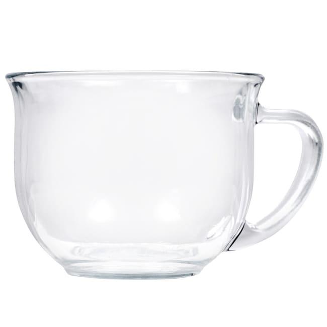 Clear Gl Mugs 18 Oz