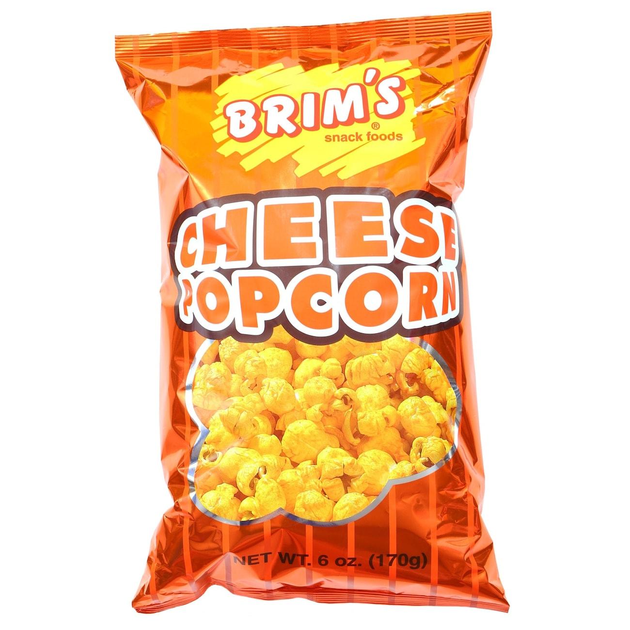 Brims Cheese Popcorn 6 Oz Bags