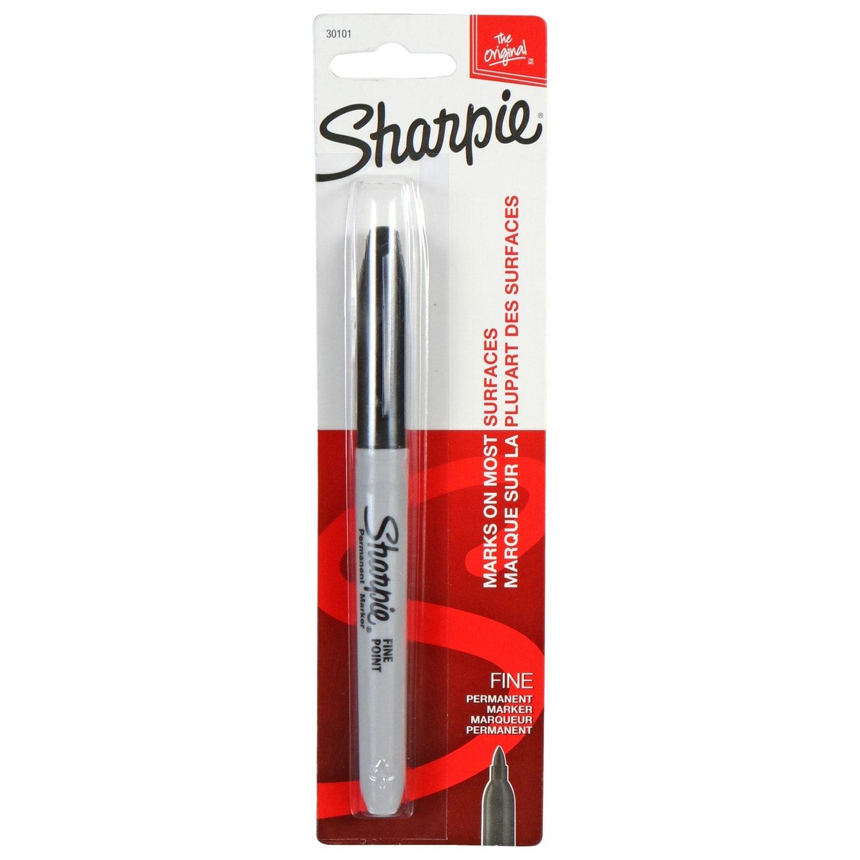 View Sharpie Fine-Point Black Permanent Markers