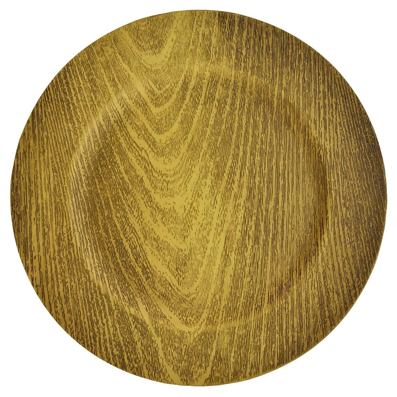 Gold Faux Wood...