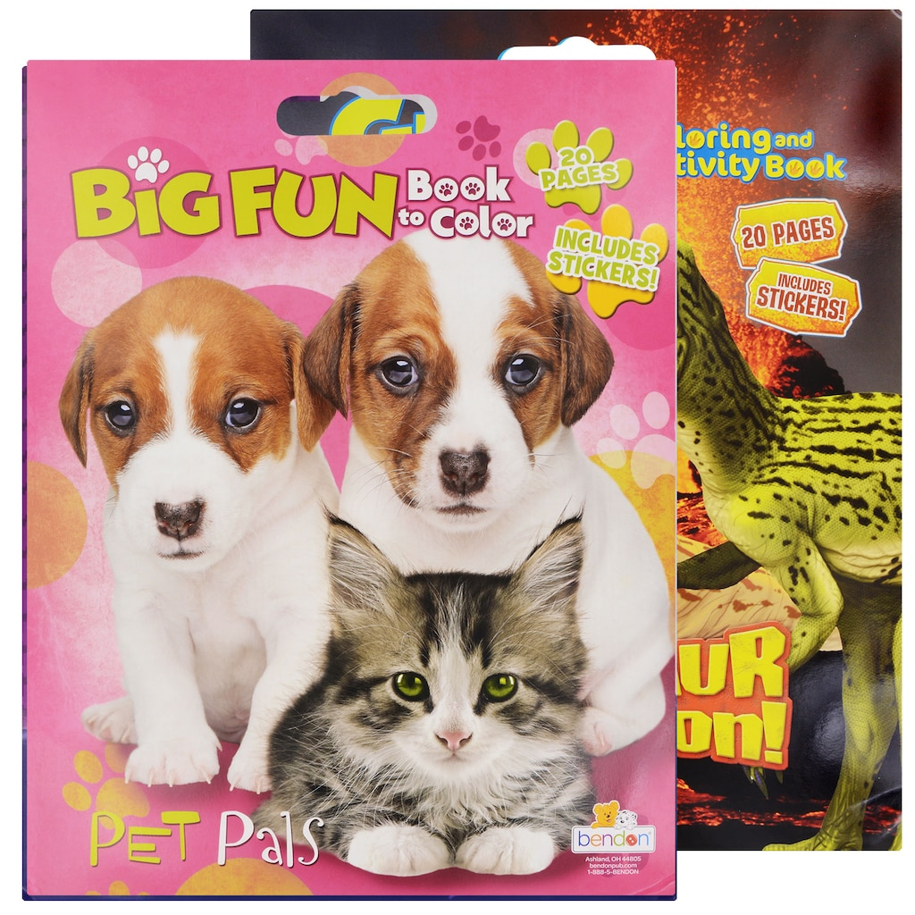 Coloring Books Dollar Tree Inc Sticker Activity My Big And Mighty Jumbo With Stickers 14x18 In