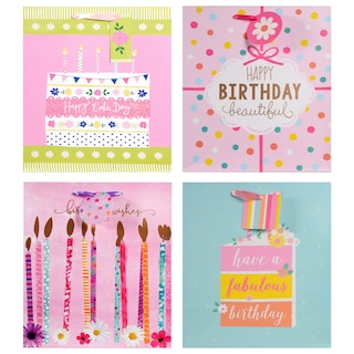 Large Colorful Happy Birthday Gift Bags Product Image b7fe59a3ab71b