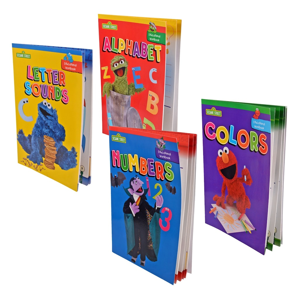 Sesame Street The Letter Of The Month Club.Sesame Street Children S Educational Workbooks 32 Pages