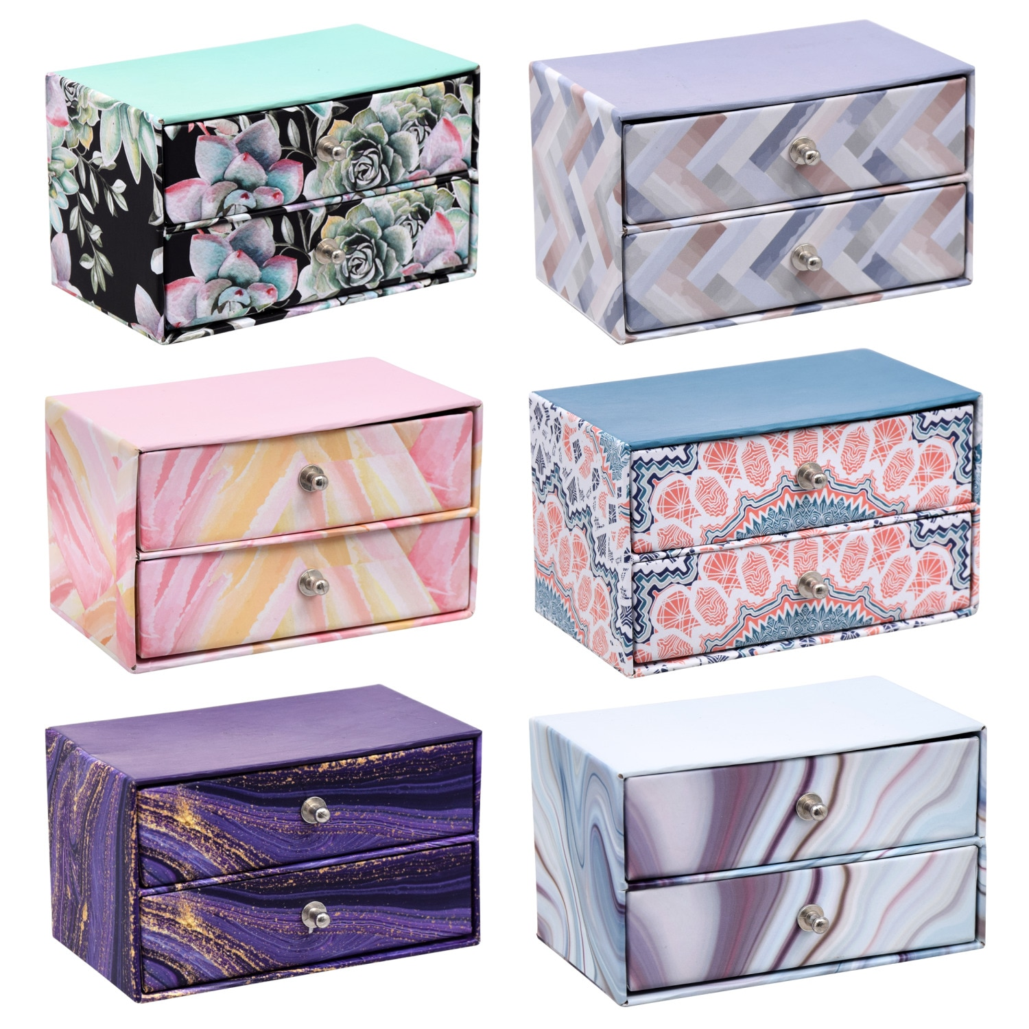 Trinket Boxes with Drawers