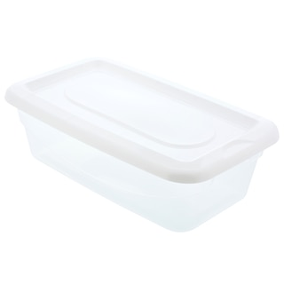 Bulk Essentials Plastic Storage Boxes With Lids Dollar Tree