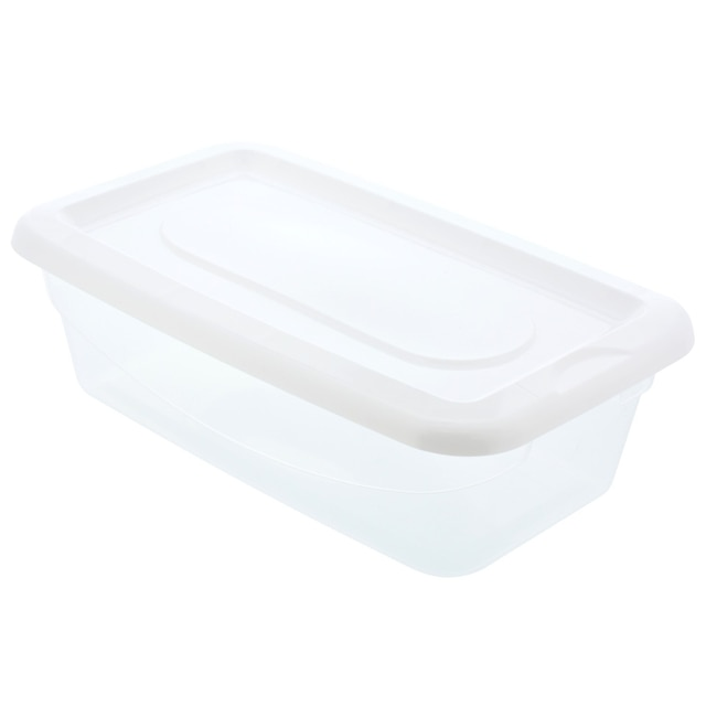 View Essentials Plastic Storage Boxes with