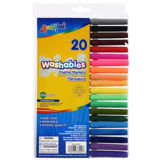 View Jot Washable Fineline Markers, 20-ct.