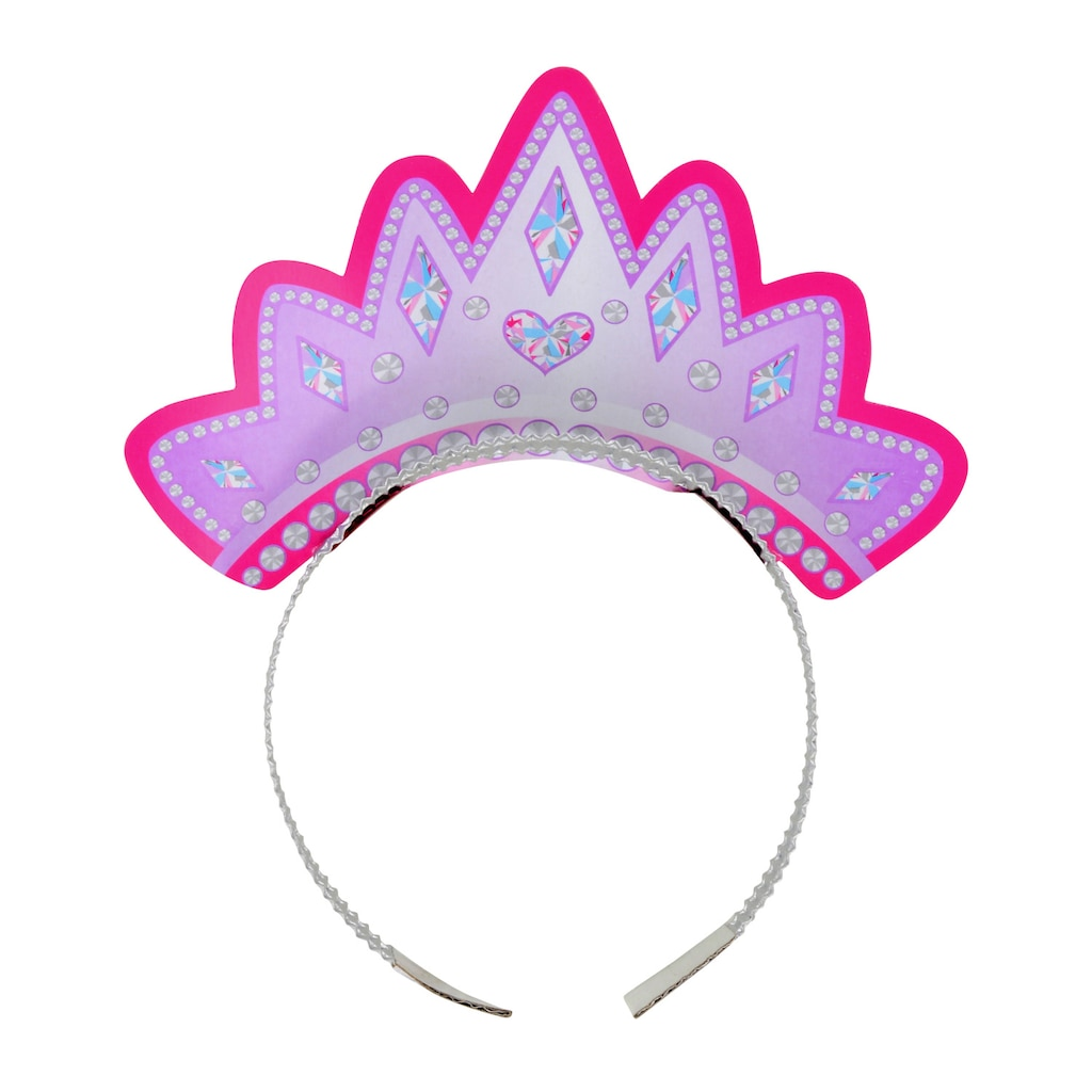 Display Product Reviews For Princess Party Tiaras 4 Ct Packs