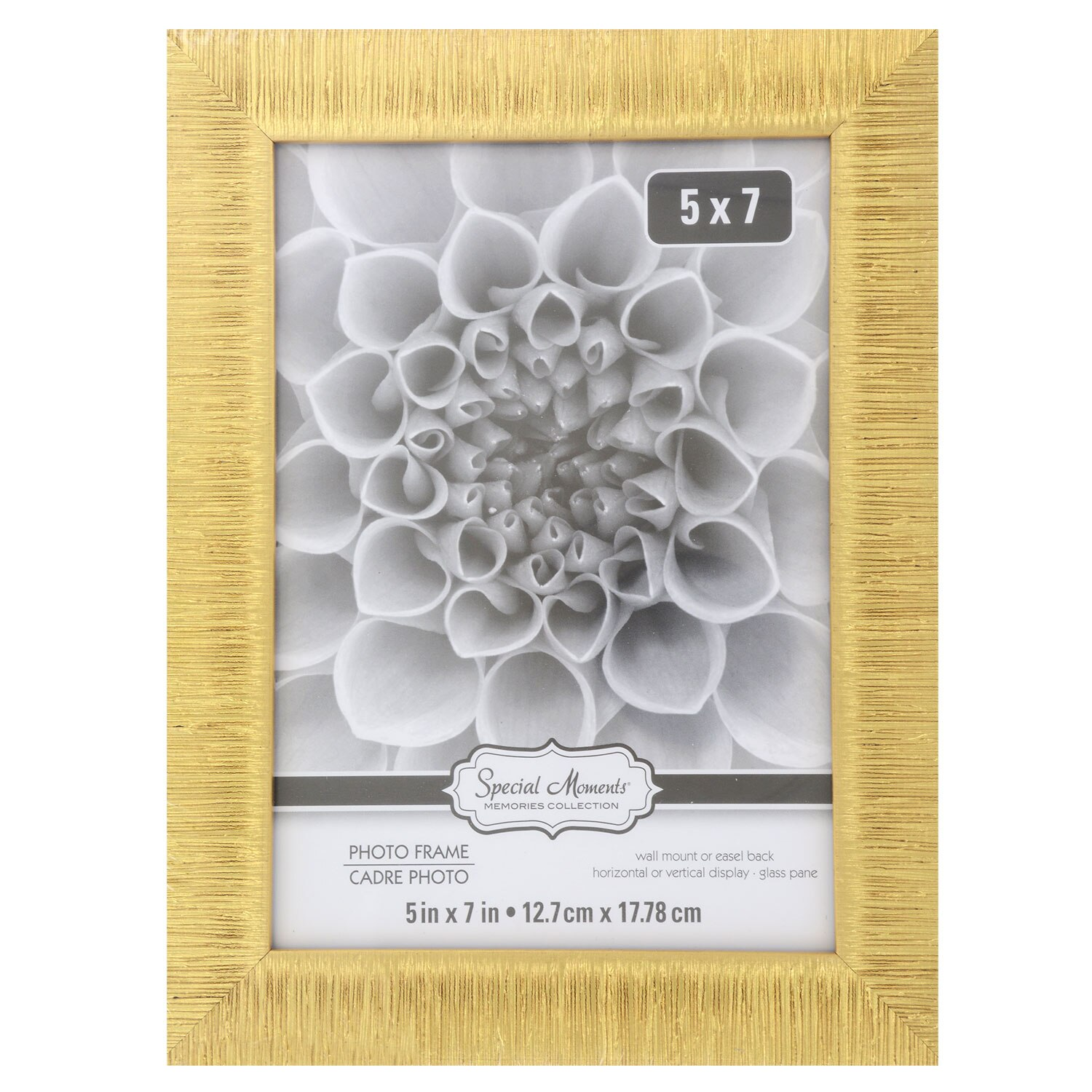 8c4a208503c8 Special Moments Textured Gold Plastic Picture Frames