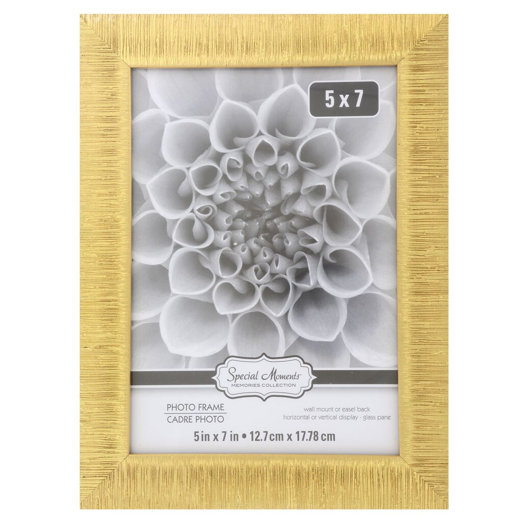 519a427d3e3a Special Moments Textured Gold Plastic Picture Frames