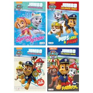 286945 bendon nickelodeon paw patrol childrens jumbo coloring books