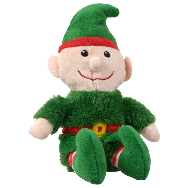 christmas house sitting plush christmas elves 10 in