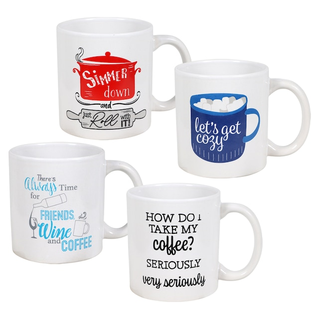 Novelty Ceramic Coffee Mugs 14 Oz
