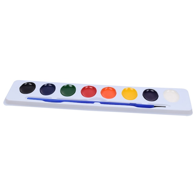 Jot 8 Color Watercolor Sets With Brushes