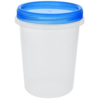 Sure Fresh 34-oz  Reusable Tall Plastic Containers with Lids, 2-ct  Packs