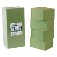 Bulk Gentle Grip Green Foam Floral Blocks 4 Piece Dollar Tree