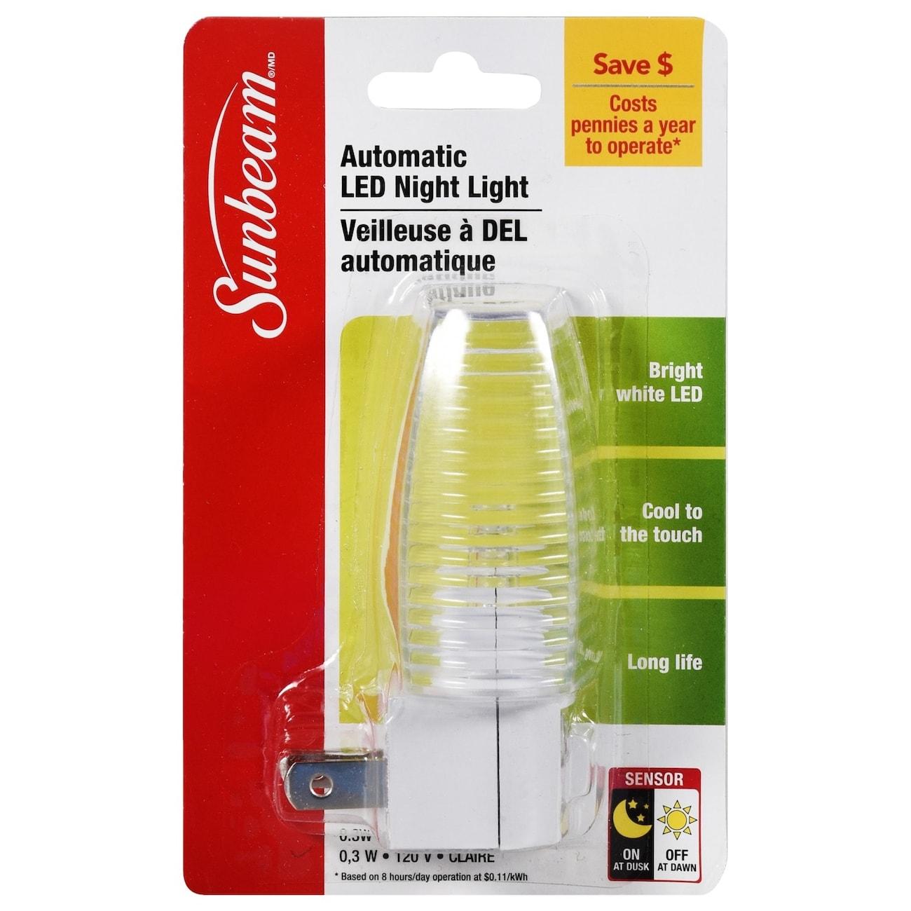 Sunbeam Automatic LED Night Lights