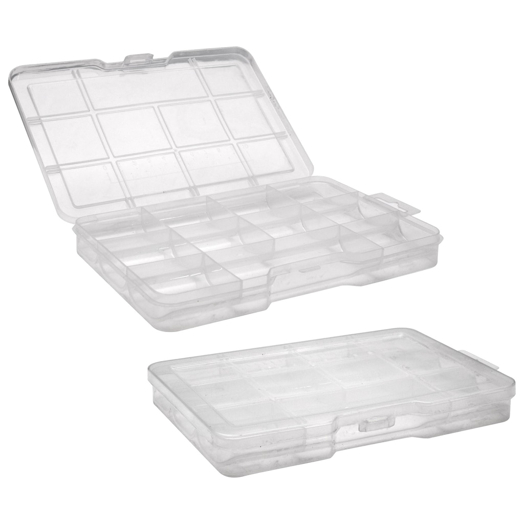 b891ba83377d Tool Bench Hardware Plastic Compartmented Storage Cases