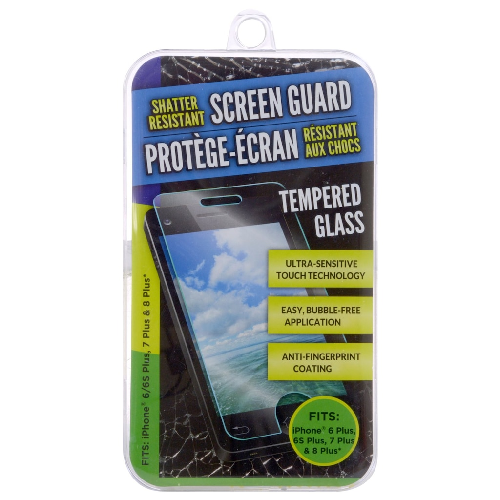 1ec4987a983 Shatter-Resistant Glass Screen Guards that Fit iPhone 6-8