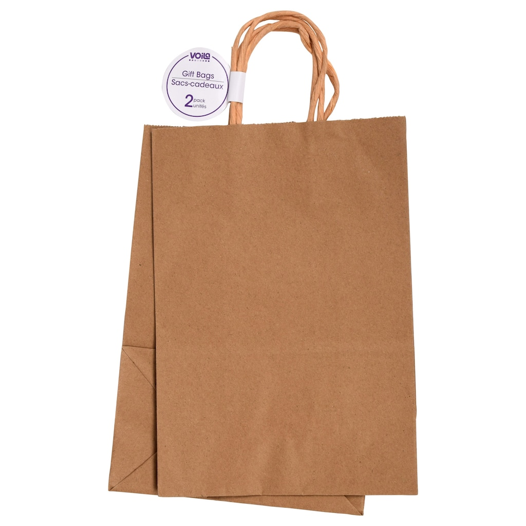 7edfa2b08a Display product reviews for Medium Natural Kraft Paper Gift Bags
