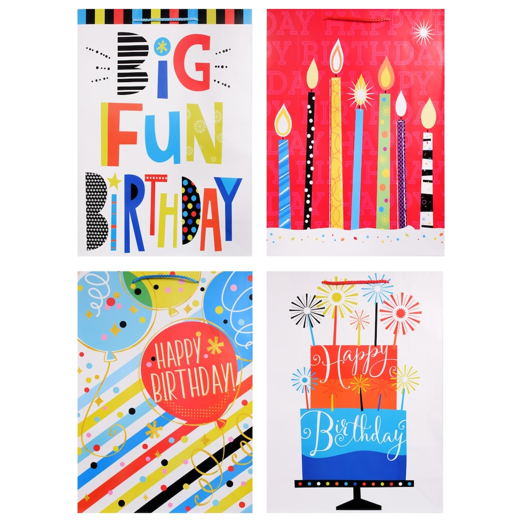 Display Product Reviews For Voila Extra Large Birthday Celebration Gift Bags