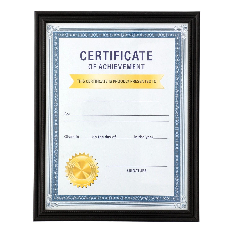 Dollartreecom Bulk Bulk Black Plastic Document Frames 8 X 11 In