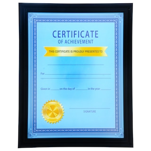 dollartree com black plastic document frames 8 x 11 in