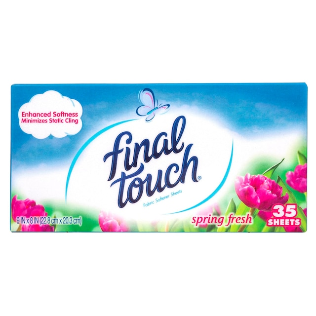 View Final Touch Fabric Softener Sheets