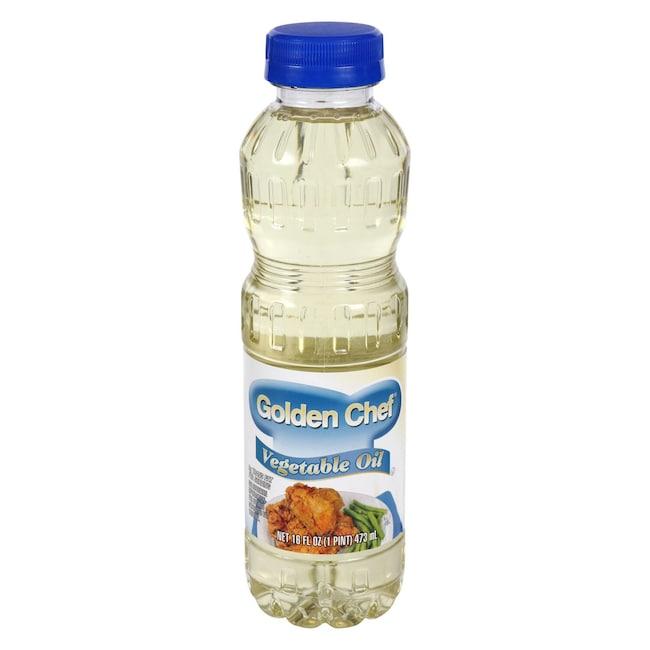Golden Chef Vegetable Oil 16 Oz Bottles
