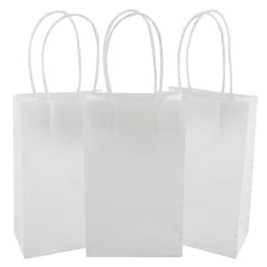 Dollartreecom Bulk Bulk Small White Kraft Paper Gift Bags 3 Ct