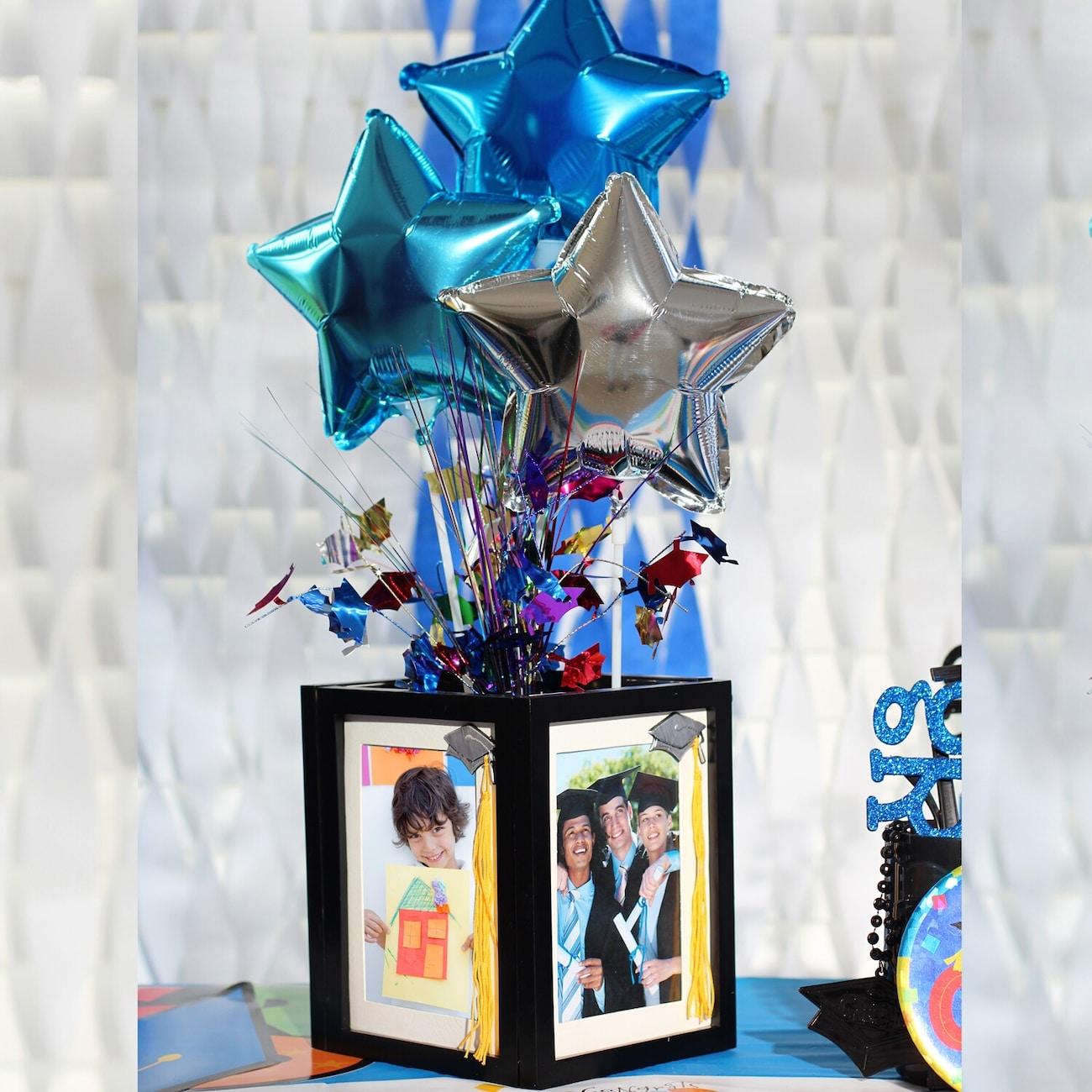 Diy Graduation Centerpieces - Dollar