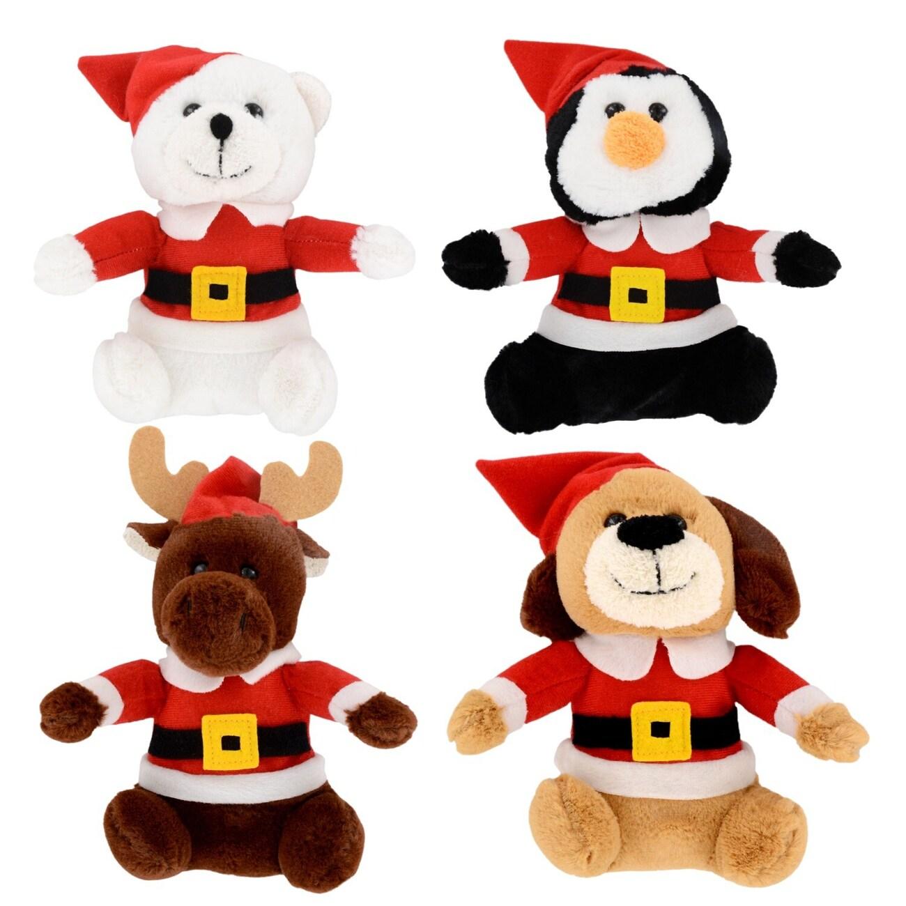 plush christmas friends 65 in - Christmas Plush Toys