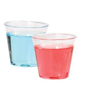Clear Plastic 1-fl oz  Shot Glasses, 24-ct  Packs