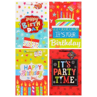 279390 Extra Large Whimsical Birthday Gift Bags