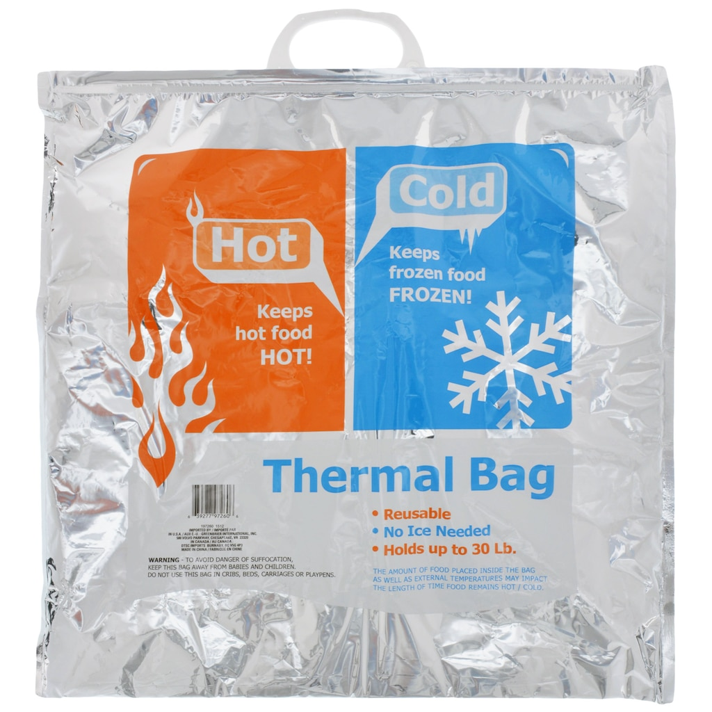 Thermal Hot/Cold Bags, 19 in