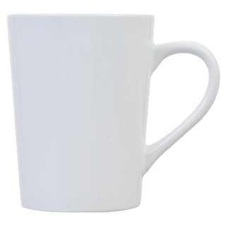 Royal Norfolk Clic White Tapered Stoneware Mugs 14 Oz Product Image