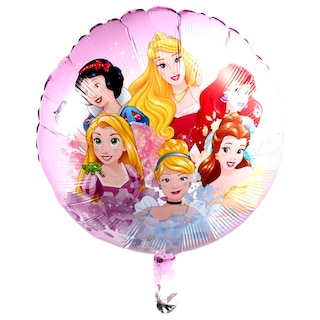 139 Disney Princess Foil Balloons With Attached Ribbons 18 In