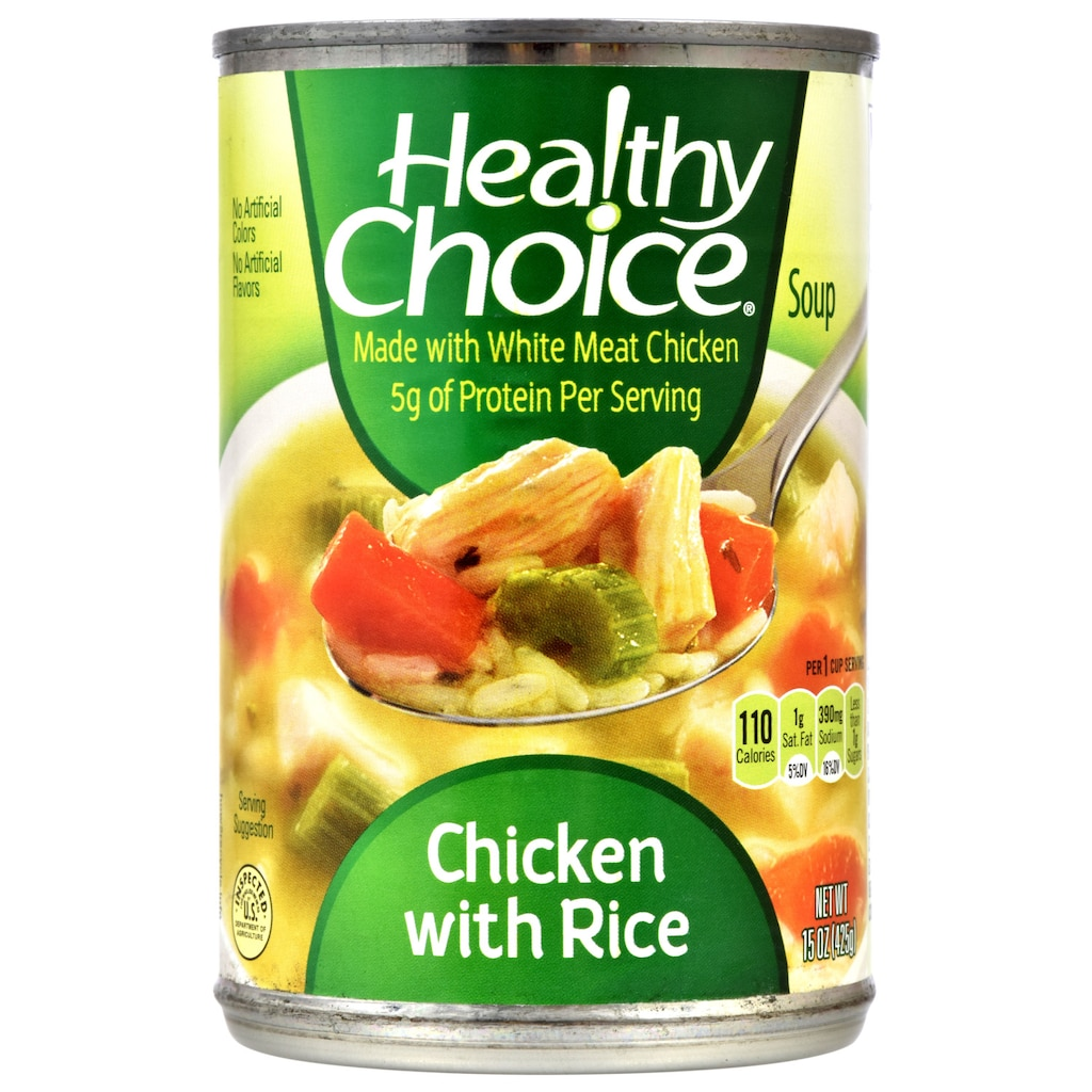 a52f175b0 Healthy Choice Chicken with Rice Soup