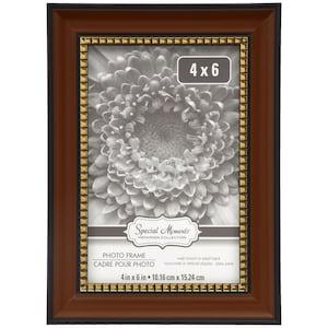 Dollartreecom Bulk Frame Brown W Gold Dots 4x6