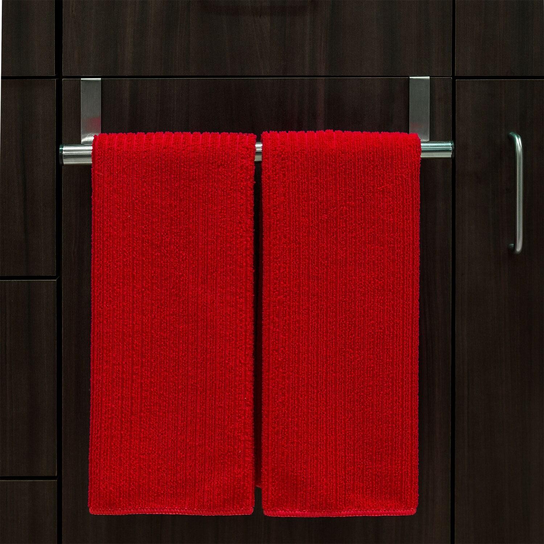 Over the Cabinet Door Towel Bar