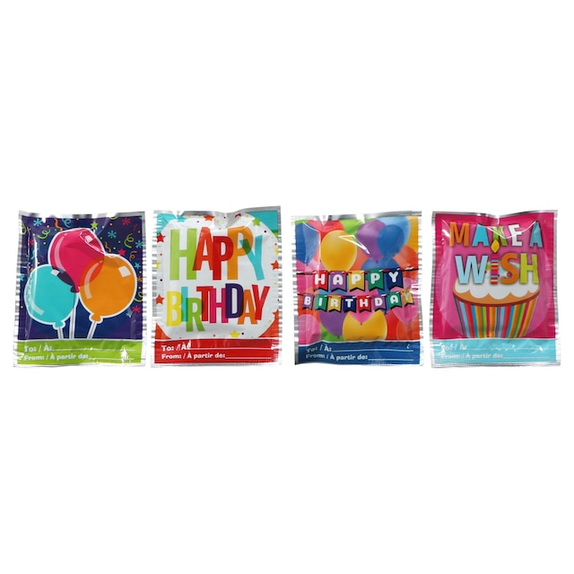 Wack A Pack Self Inflating Birthday Balloons 4 Ct Packs