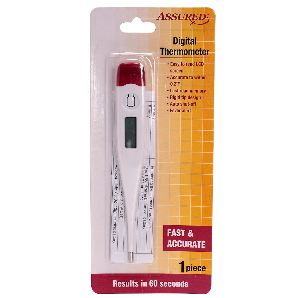 Assured Digital Thermometers, 4.75 in.